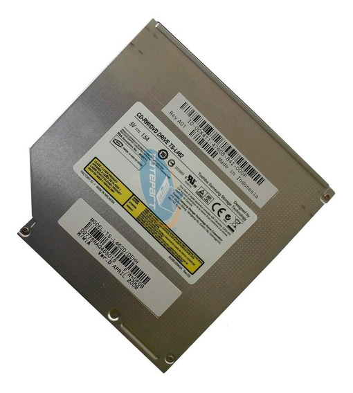 Gravador Cd-r/rw Leitor Dvd Notebook Cce Hp Dell - Ts-l462