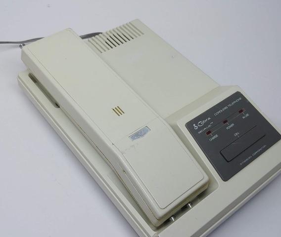Telefone Sem Fio Cobra Antigo Não Funciona Legítim Raro 1984