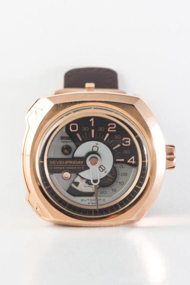 Reloj Sevenfriday Serie V 02/01 Rose Gold Foto Real