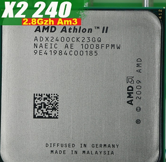 Athlon Ii X2 240 2.8 Ghz 2 M Cache Socket Am3 Am2+