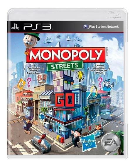 Monopoly Streets Ps3 Mídia Física Pronta Entrega