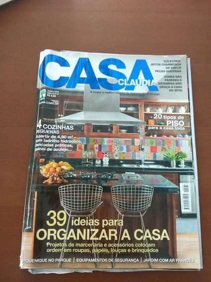 Revista Casa Cláudia Janeiro 2010. Arquitetura Design Decor