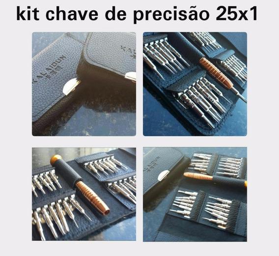 Kit Chave Precisão 25x1