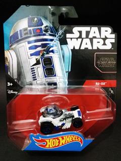 Hot Wheels Star Wars R2-d2 1/64 Miniatura Nova Lacrado
