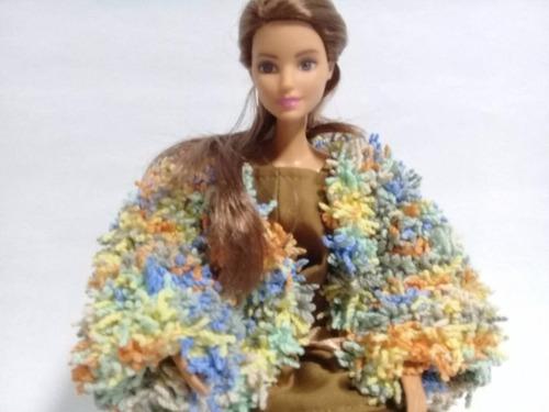 Imagen 1 de 10 de  Vestido Ajustable Barbie Y Muñeca De Medida Similar, Ropa.