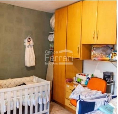 Casa Térrea Na Região De Vila Nivi, Com 2 Dormitórios E 1 Vaga - Cf33959