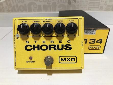 Pedal Mxr M134 Stereo Chorus Na Caixa Semi Novo, Troco