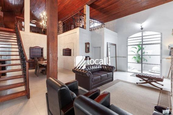 Casa Com 4 Dormitórios À Venda, 523 M² Por R$ 1.190.000,00 - Jardim Vivendas - São José Do Rio Preto/sp - Ca2059