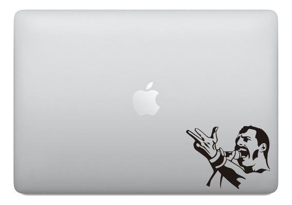 Adesivo Para Notebook Freddie Mercury Rock Queen Macbook