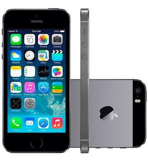 Apple iPhone 5s 16gb Ios 8 4g Sem Touch Id Tela 4 | Usado
