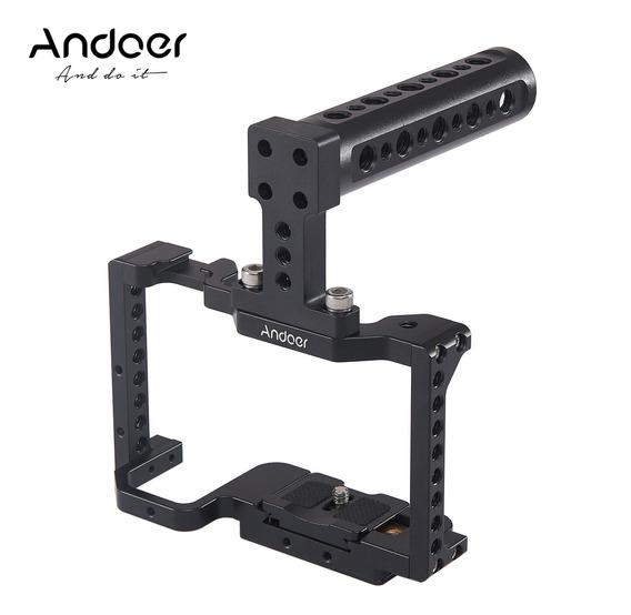 Andoer Camera Gaia+top Handle Kit Liga De Alumínio Com