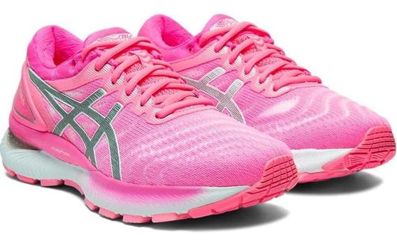 Tênis Running Asics Feminino Gel Nimbus 22 1012a587-702 Rosê