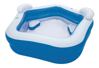 Alberca Piscina Inflable Familiar 212x206x69 Bestway 54153