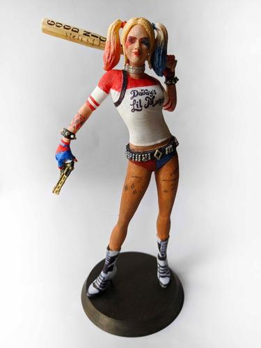 Harley Quinn 22cm Única!!! Mirá Las Fotos (capaun0)