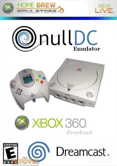 Emulador De Dream Cast + 10 Jogos Para Xbox 360