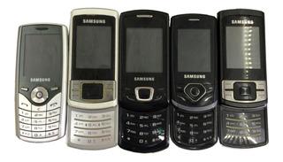 Lote C/12 Samsung C3050/gt-s3550/sgh-j165l/e2550 No Estado