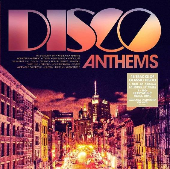 Disco Anthems Vinilo Triple 180 Gramos Nuevo Importado