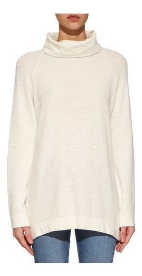 Sweater Polera Agnes Natural. Oklan 2019.