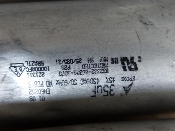 5 X Capacitor Aluminio 35uf 450vac Epcos (ler Anuncio)
