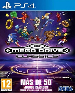 Sega Mega Drive Classics Ps4 Nuevo Fisico Sellado