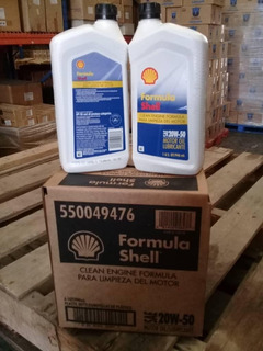 Aceite Shell 20w-50 Mineral