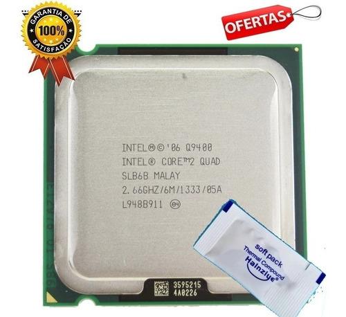 Processador Core2quad Q9400 Intel 2.66ghz 6mb Cache Cpu 775