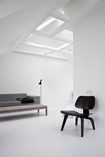 Poltrona / Cadeira Charles Eames Lcw - Cor Preta Ebanizada   Mercado Livre