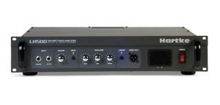 Amplificador Estereo Para Bajo 500w 4 Omhs Hartke Lh500