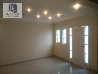 Sobrado Residencial À Venda, Vila Alto De Santo André, Santo André. - So2869