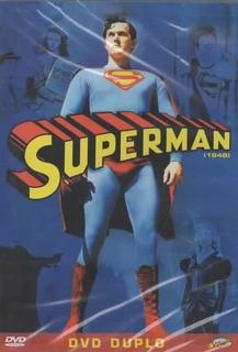 Dvd Filme - Superman [1948] (legendado/lacrado/duplo/p&b)