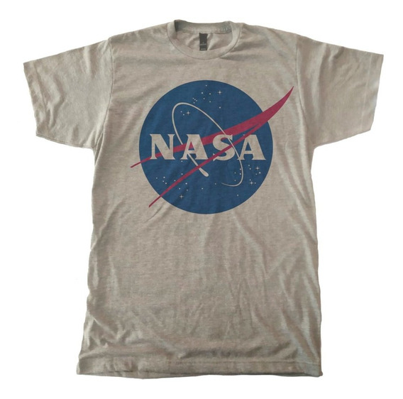 Playera Nasa Logo