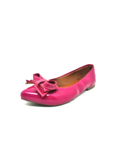 Sapatos Femininos Sapatilha Verniz Pink Dani K