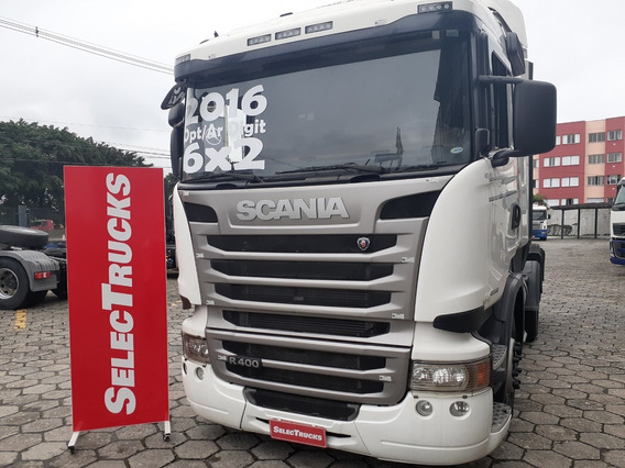 Scania R400 6x2 2016 Ar Dig Streamline Completo Selectrucks