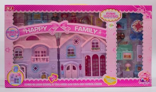 Casa De Muñecas Happy Family Accesorios Luces Y Sonidos