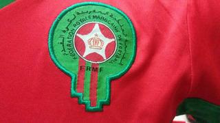 Camisa De Futebol Do Marrocos