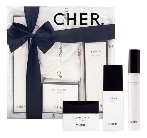 Kit Tratamiento Facial Cher The Skincare Rutine Piel Normal