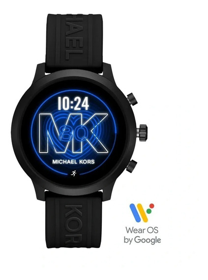 Relogio Smart Mk Michael Kors Preto - Frequência Cardiac