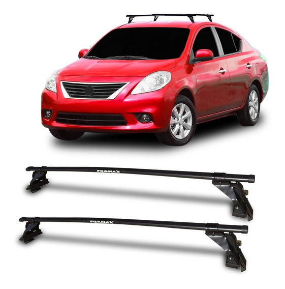 Rack Teto Nissan Versa 2012 2013 14 Até 2019 Bagageiro Eqma