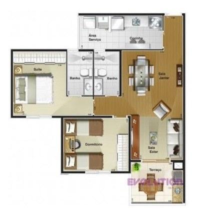 Imagem 1 de 11 de Apartamento Exuberance A Venda Rudge Ramos  -  São Bernardo Do Campo - 554