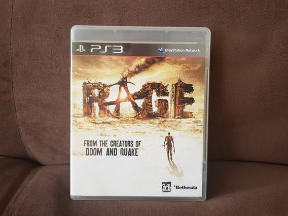 Rage Ps3 Mídia Física