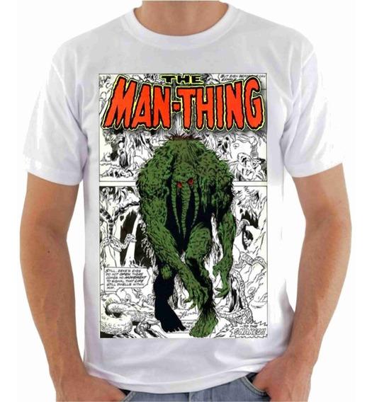 Camisa Camiseta, Monstro Do Pântano, Gibi Quadrinhos Série