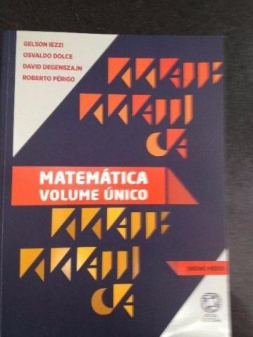 Matemática Volume Único 5ª Ed. 2011