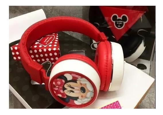 Fone De Ouvido Headphone Minnie - Produto Licenciado