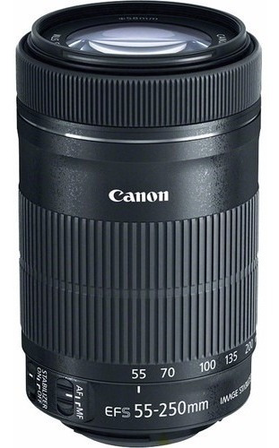Objetiva Canon Ef-s 55-250mm F/4-5.6 Is Stm - Temos Loja