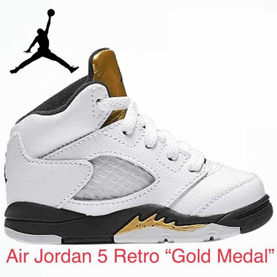 Air Jordan 5 Retro Gold Medal