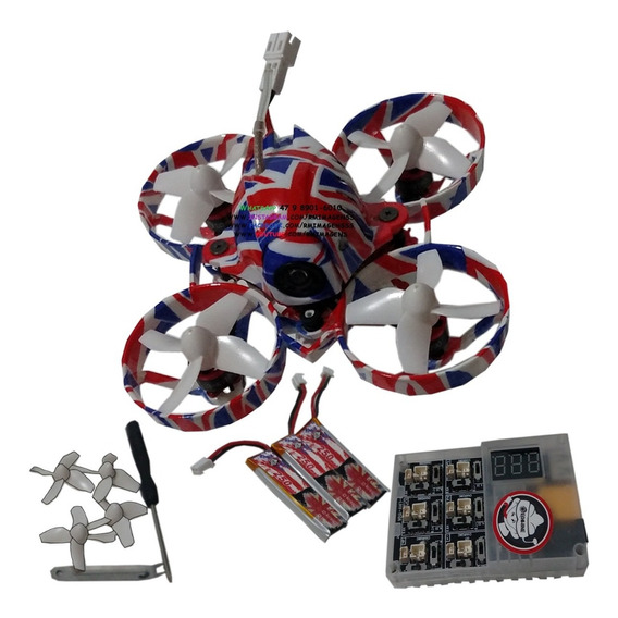 Drone Racer Fpv - Us65 Uk65 Ur65 Brushless, Frsky Ou Flysky