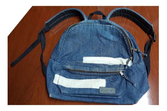 Mochila De Jeans Azul Eastpak Usa