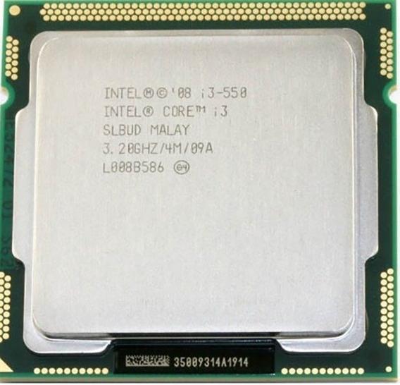 Processador Intel I3 550 Lga 1156 Original Com Garantia