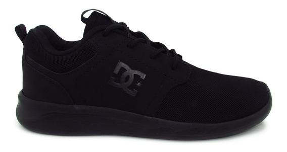 Tenis Dc Shoes Midway Sn Mx Adjs700059 Xkkk Black Negro