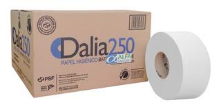 Papel Higienico Dalia 250 C/12 Rollos De 250 Mts Hoja Doble